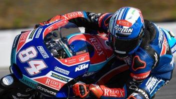 Moto3: FP1: Jakub Kornfeil subito in vetta a Misano