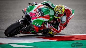 "MotoGP: Espargarò: ""dopo i test di Misano spero di tornare in Top Ten"""