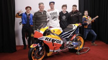 MotoGP: Candid camera, Marquez e Pedrosa comici per un giorno