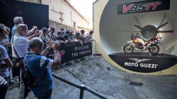 Moto - News: Moto Guzzi: 30.000 appassionati per gli Open House a Mandello