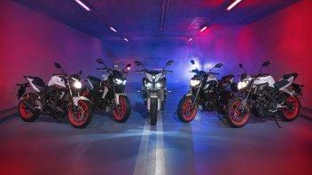 "Moto - News: Yamaha Serie MT 2019: l'Oscuro... ""si ghiaccia"""
