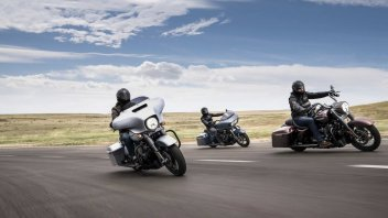Moto - News: Harley-Davidson: prova una Touring 2019 e vinci una settimana in H-D
