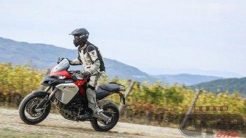 Moto - Test: Ducati Multistrada Enduro 1260: muscoli sotto controllo