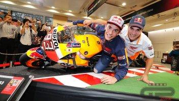 MotoGP: Marquez e Pedrosa in tandem contro Dovizioso