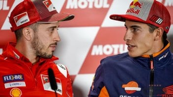 """MotoGP: Dovizioso: """"Marquez in Ducati? sarebbe bello"""""""