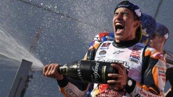 MotoGP: L'età sorride a Marquez, meglio di Rossi e Agostini