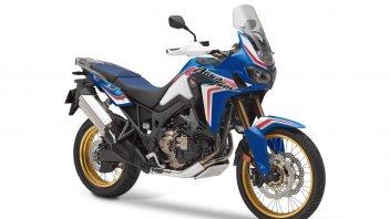 Moto - News: Honda CRF1000L Africa Twin 2019: svelate le nuove colorazioni