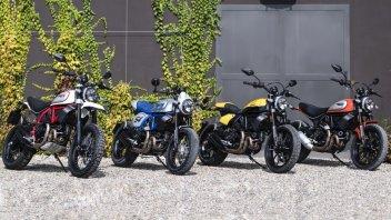 Moto - News: Ducati: la rinnovata famiglia Scrambler in parata a Colonia