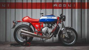 Moto - News: Magni 750S Tributo: la moto per rivivere la storia di un mito