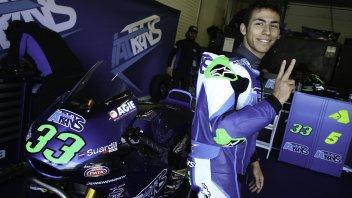 : Bastianini: la Moto2? Non mi aspettavo tanta potenza!