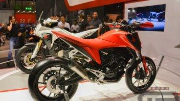 """EICMA: Honda: tornano i 125 """"made in italy"""""""
