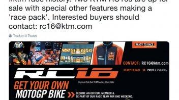 MotoGP: Saldi di fine stagione in KTM: una MotoGP per 250.000 euro