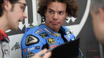 """MotoGP: Morbidelli: """"La gara? Non mi piace l'acqua, ma voglio l'acqua"""""""