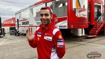 MotoGP: Danilo Petrucci, primo giorno da ufficiale Ducati!