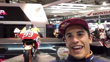 MotoGP: Marquez ad Eicma: Honda, mi regali la Doohan replica?