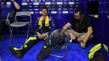 """MotoGP: Rossi: """"We need to race tomorrow... I'm running out of toothpaste"""""""