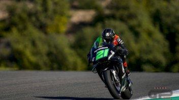 """MotoGP: Morbidelli: """"Più veloce di Rossi? Non è una gara tra me e lui"""""""