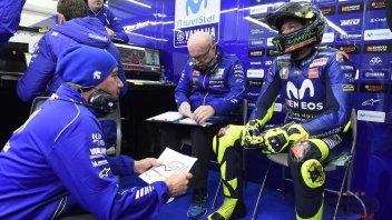 """MotoGP: Rossi: """"I nuovi motori non risolvono i nostri limiti"""""""