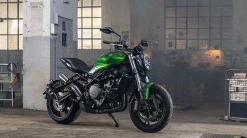 Moto - News: Benelli 752S: svelata la naked che mancava