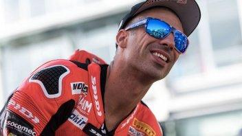 SBK: Marco Melandri, here's the Yamaha you're not expecting!