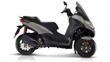 Moto - Scooter: Piaggio MP3 300 hpe: design e motore nuovi per il 3 ruote italiano