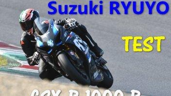 """Moto - Test: Suzuki GSX-R 1000 R Ryuyo: la """"Gixxer"""" più veloce di sempre"""