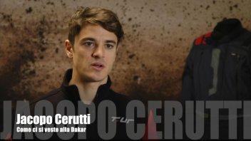 Dakar: Jacopo Cerutti: come ci si veste per la Dakar