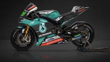 """MotoGP: Ecco la Yamaha del team Petronas: """"inseguiamo un sogno"""""""