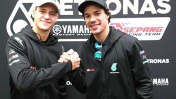 MotoGP: Morbidelli: Hamilton, puoi provare la mia Yamaha!