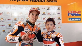 MotoGP: Marquez blows out 26 candles... and he's a kid, again