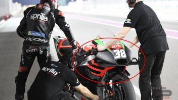 MotoGP: Aprilia unveils its fairing with... tray-shaped wings