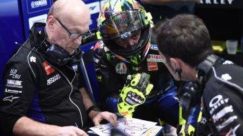 """MotoGP: Rossi: """"Per annullare il gap serve un anno di lavoro"""""""
