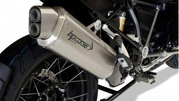 """Moto - News: HP Corse 4-Track: più """"voce"""" alla BMW R 1250 GS"""