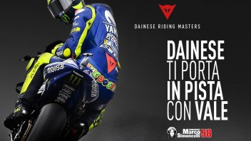 News: Dainese Riding Masters: The Doctor takes the chair at Misano