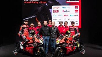 """SBK: Dall'Igna: """"La Panigale V4 ha il DNA della MotoGP"""""""