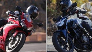 Moto - Test: Honda CBR 500 R e CB 500 F: rampa di lancio