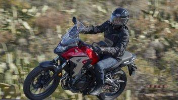 Moto - Test: Honda CB 500 X: libertà alla portata di tutti