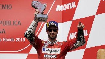 """MotoGP: Dovizioso: """"Felice del podio, meno per le gomme"""""""
