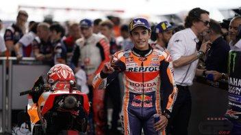 """MotoGP: Marquez: """"Domani voglio una gara... tranquilla"""""""