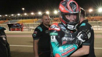 """MotoGP: Quartararo: """"Io meglio di Rossi? Una giornata no capita a tutti"""""""