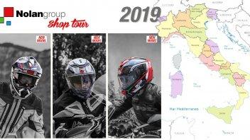 Moto - News: Nolangroup Shop Tour: 14 tappe con le novità 2019