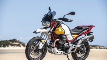 Moto - News: Moto Guzzi V85 TT: le ali dell'aquila