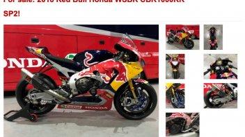 SBK: Ten Kate Racing is selling Nicky Hayden's RedBull Honda