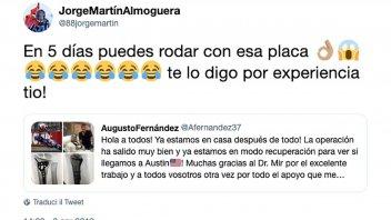"""Moto2: Martin rassicura Fernandez: """"Correrai con la placca, te lo dico per esperienza!"""""""
