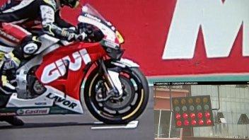 MotoGP: Un video conferma la falsa partenza di Crutchlow