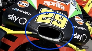 MotoGP: Aprilia greases the air vent to prevent dirt at Austin