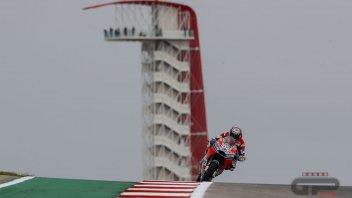 MotoGP: Ducati: la più veloce ad Austin ma manca la vittoria
