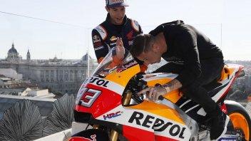MotoGP: Marquez 'palleggia' con Joaquin sulla Honda