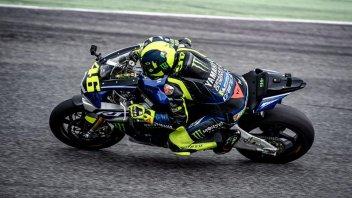 MotoGP: On Rossi's Yamaha R1 on the Mugello track