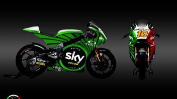 Moto2: Il team Sky VR46 si veste con il tricolore al Mugello